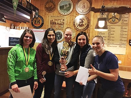 Radsport-Damen gewinnen Georg-Mayer-Wanderpokal