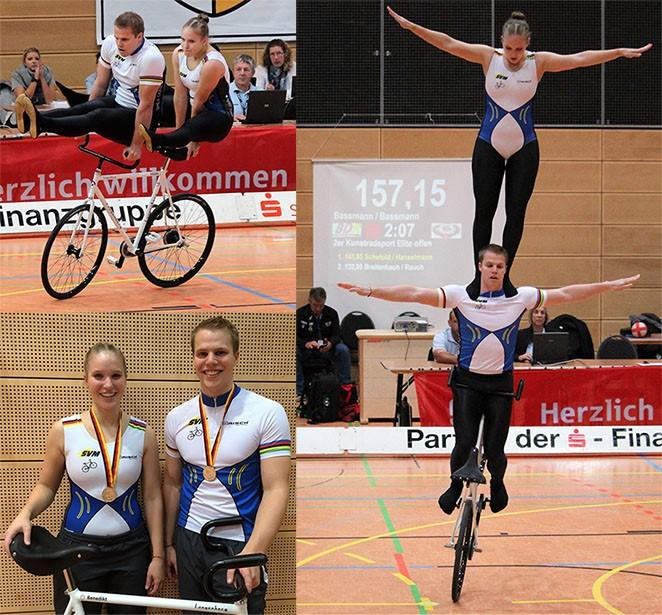 Deutsche Hallenradsportmeisterschaft in Moers