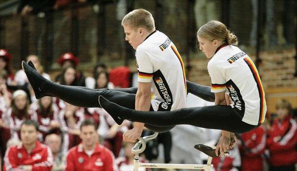 Luisa und Benedikt Bassmann sind Weltmeister