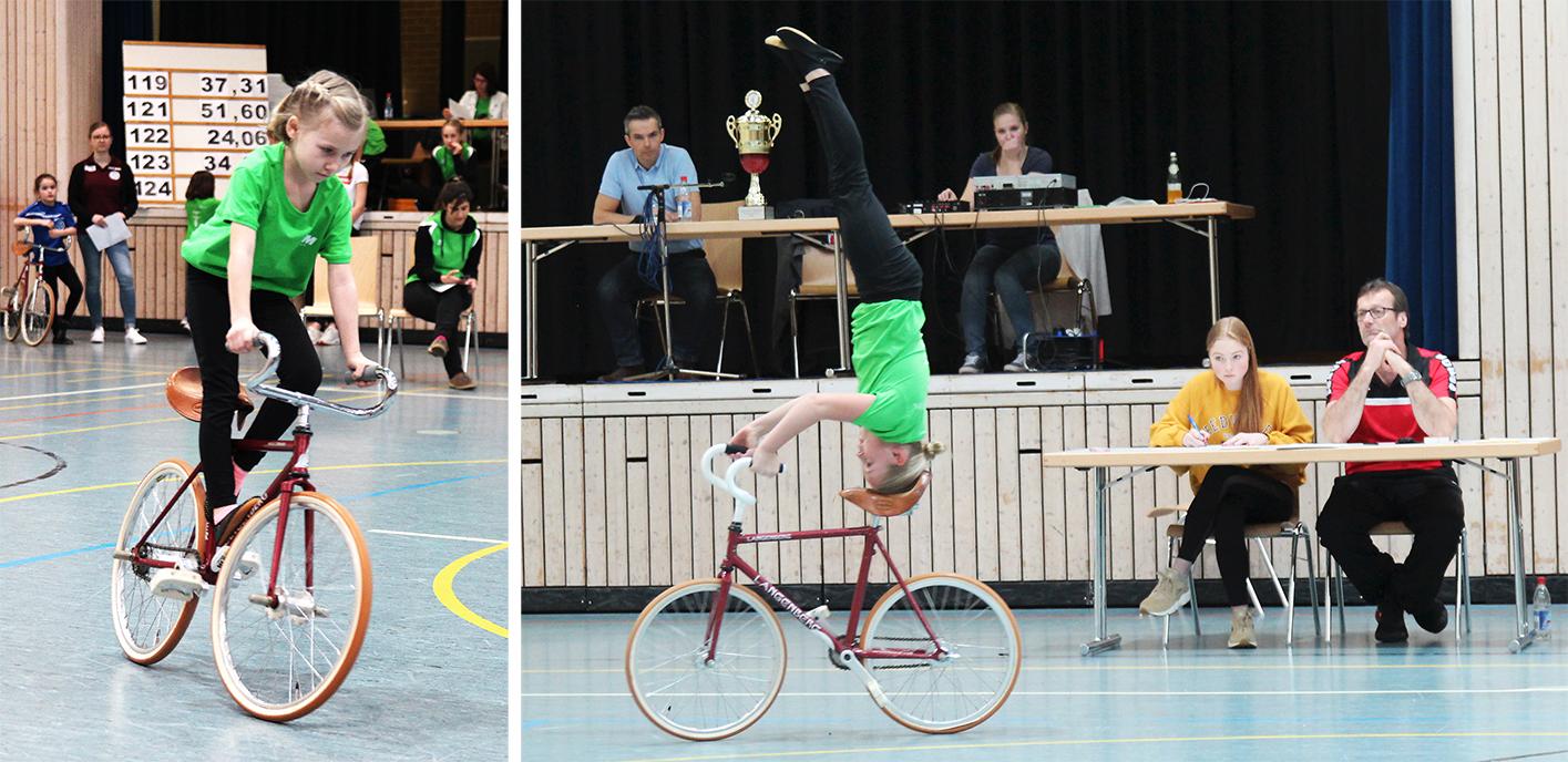 Kunstradfahrer erfolgreich im Titelkampf